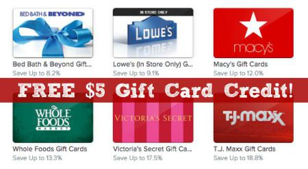 Discounted Gift Cards: $10 off a $100 Purchase