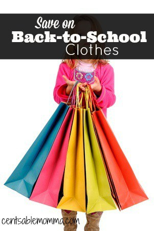 Want to save money on back-to-school clothing shopping? Check out these 7 tips to save on Back-to-School clothes.
