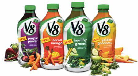 Printable Coupon: $1 off V8 Veggie Blends + Target Deal