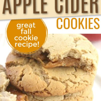 Caramel Apple Cider Cookies Recipe