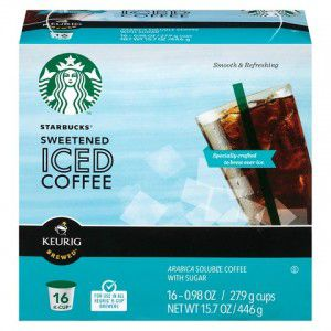 image regarding Printable K Cup Coupons known as Printable Coupon: $3/2 Starbucks Iced Espresso K-Cups + Emphasis