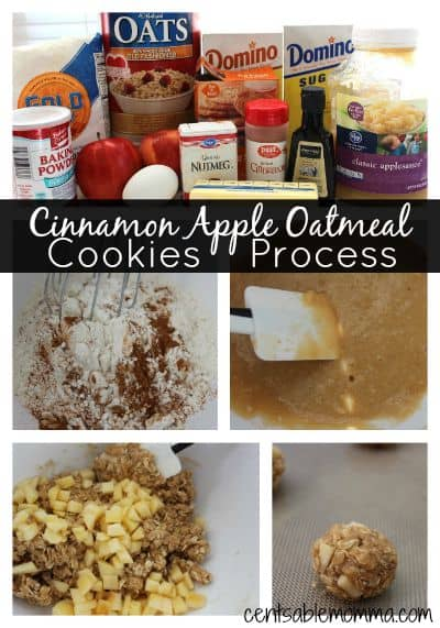 Cinnamon-Apple-Oatmeal-Cookies-Process