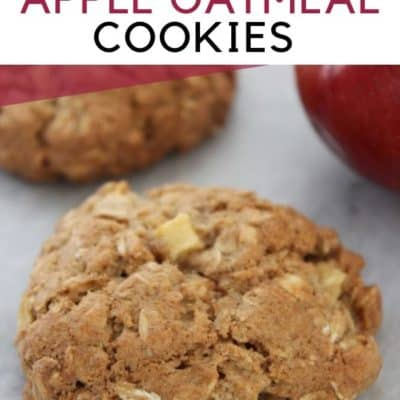 Cinnamon Apple Oatmeal Cookies Recipe