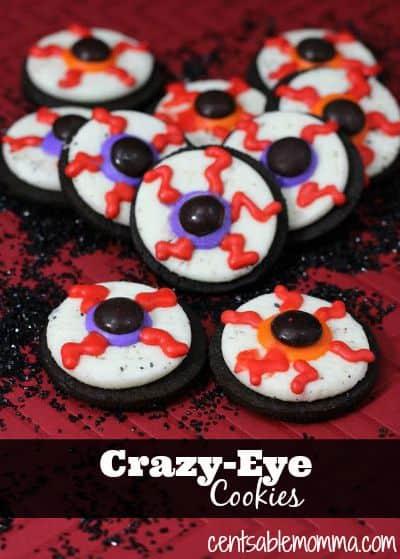 Crazy Eye Cookies Recipe