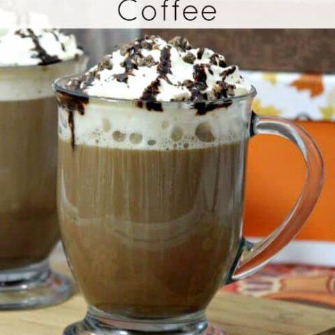 Mocha Cookie Crumble Coffee Recipe