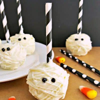 Mummy Cake Pops Recipe