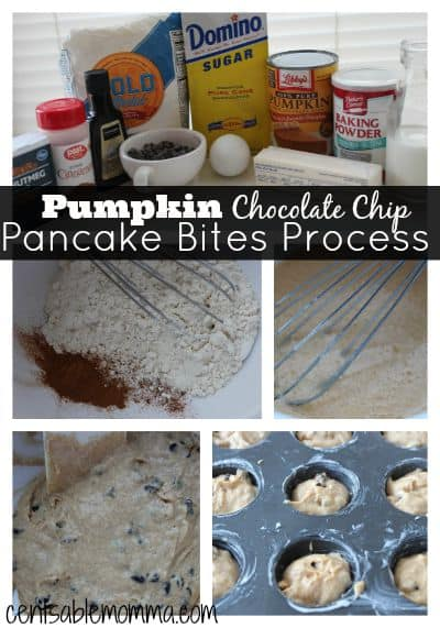 Pumpkin-Chocolate-Chip-Pancake-Bites-Process