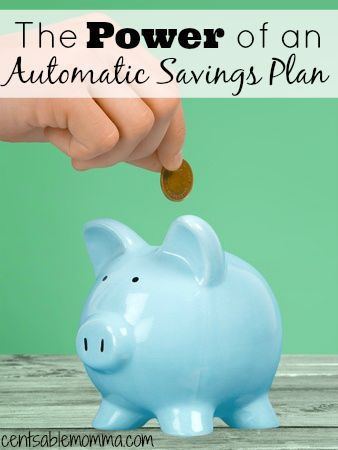 Why should you have an automatic savings plan?  Use this one simple trick can help you increase your savings account each month including tips to make it work for you.