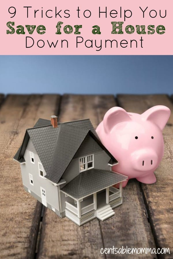 If you need to save a large amount of money, like for a house down payment, check out these 9 tips to help you save for a house down payment