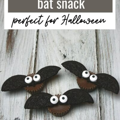 Mini Reese's Bat Snack Recipe