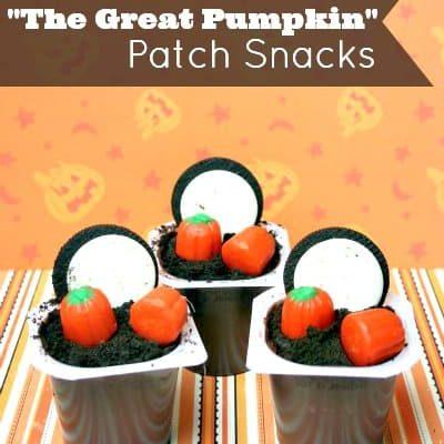 The Peanuts Movie Pumpkin Patch Snacks