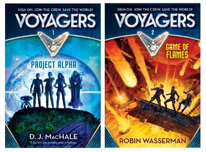 The Voyagers Book Series: Review + Giveaway