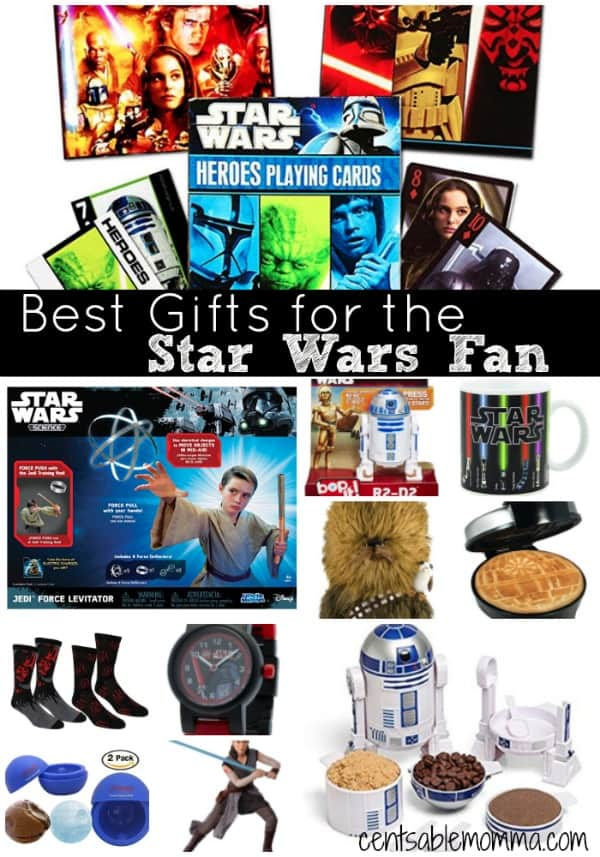 If you have someone on your gift list who loves Star Wars, you'll want to check out this list of the Best Gifts for the Star Wars fan with gift ideas for every budget.