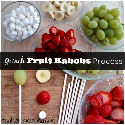 Grinch-Fruit-Kabobs-Process