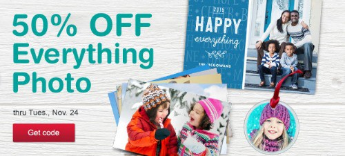 Walgreens: 50% off Everything Photo {Prints, Cards, Gifts}