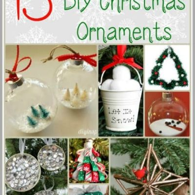 15 Must Make DIY Christmas Ornaments