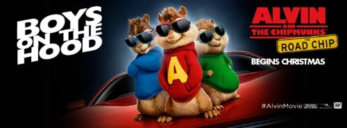 Alvin and the Chipmunks: The Road Chip: In Theaters 12/18 + Giveaway