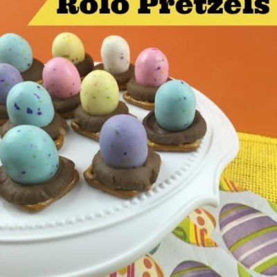 Easter Rolo Pretzels Recipe