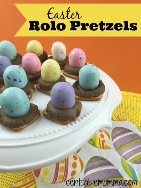 If you're looking for a fun and easy Easter treat, you'll love this Easter Rolo Pretzels recipe. With a little sweet and a little bit salty, it's great for everyone and fun to make with the kids.
