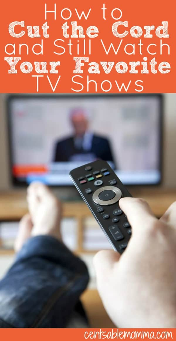 Have you thought about lowering your monthly TV service bill by cutting the cord (closing your cable or satellite TV account)? Just because you cut the cord doesn't mean you can't still watch your favorite TV shows. Find out how to save money by watching TV at greatly reduced prices when you cut the cord.
