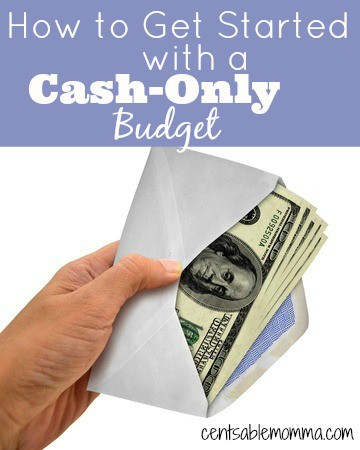 If you have trouble staying on budget because you overspend in certain categories, you can get started with an all-cash budget to help you keep your spending in check with these tips for getting started with a cash-only budget.