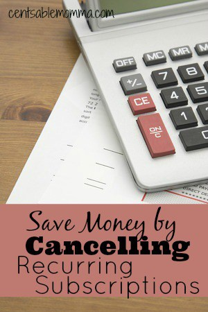 Are you being charged each and every month for services that you no longer use? Check your accounts for recurring subscriptions and cancel the ones you no longer use (including instructions on how to cancel a Paypal subscription).