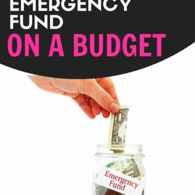4 Tricks to Build Your Emergency Fund on a Budget