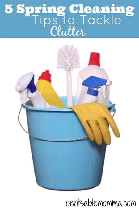 Do you get spring cleaning fever when the weather begins to warm up?  Check out these 5 tips to make your spring cleaning easier.