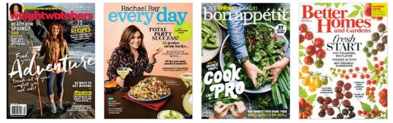 3 Magazine Subscriptions for only $12