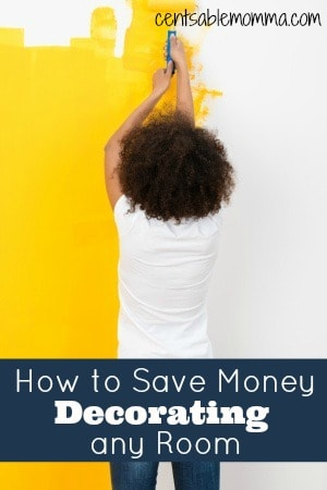 Do you have a room that you'd like to spruce up with some new furniture and decorations?  Check out these 6 tips for how to save money decorating any room on a budget.