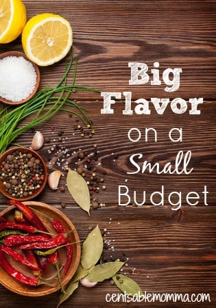 You don't have to spend a fortune on dinner to get big flavor in your meals. Try these inexpensive tips to get Big Flavor in your food on a small budget.
