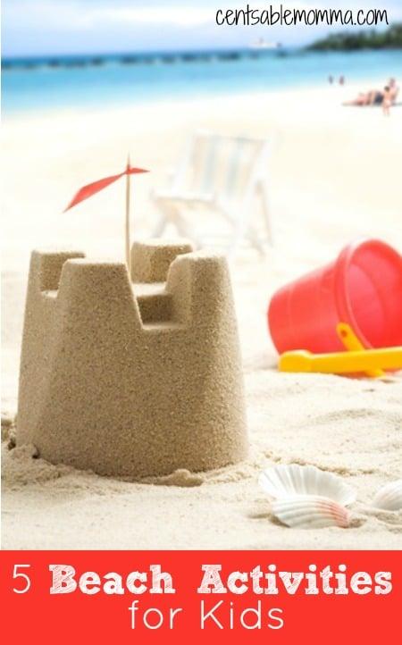 5 Beach Activities for Kids