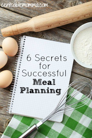 6 Secrets for Successful Meal Plan