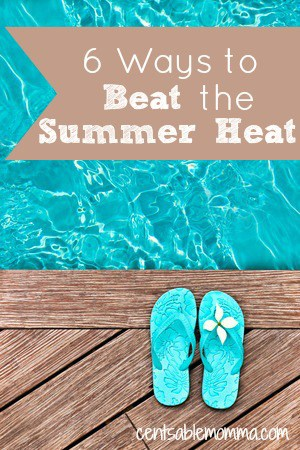 As the temperature rises with summer, it can get uncomfortable.  However, with these 6 ways to beat the summer heat, you can enjoy the summer while keeping yourself cooler.