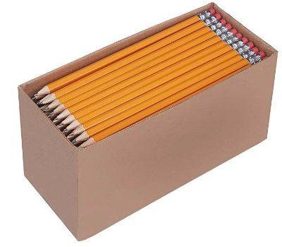 AmazonBasics Pre-sharpened #2 Pencils (150 ct.): $9.99 (20% off)