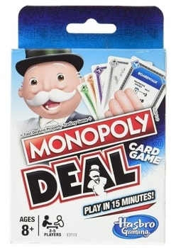 Monopoly Deal Card Game: $3.99 (43% off)