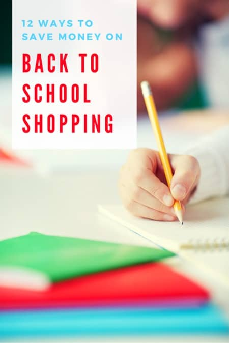 It's time to start shopping for back to school supplies! Use these 12 ways to save money on back to school to keep your costs down so you're not breaking the bank with all the supplies, clothing, and accessories you need to stock up on.