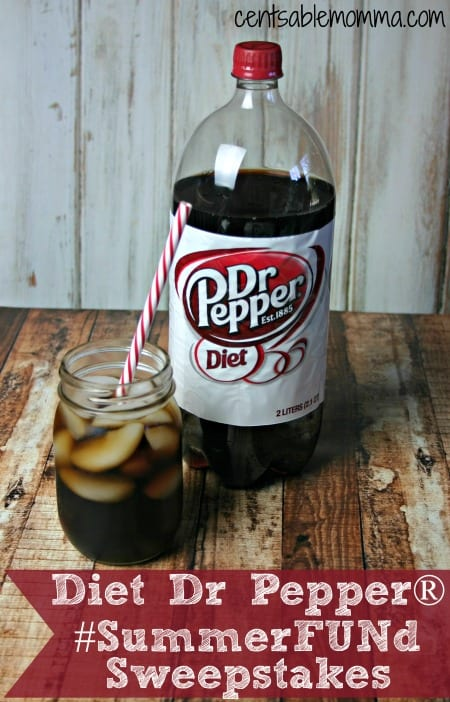 Diet Dr Pepper® #SummerFUNd Sweepstakes - Centsable Momma