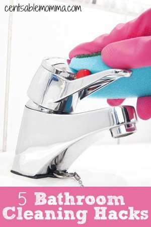 5 Bathroom Cleaning Hacks