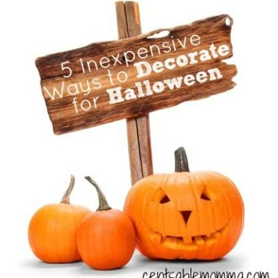5 Inexpensive Ways to Decorate for Halloween