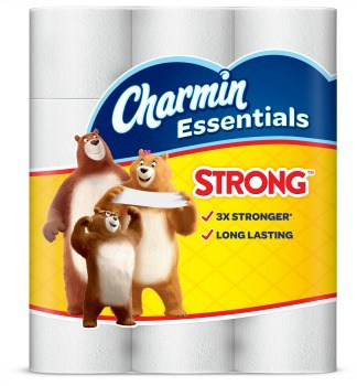 photograph relating to Charmin Coupon Printable called Printable Coupon: $1 off Charmin Fundamentals Smooth or Potent