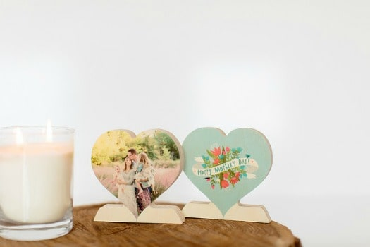 PhotoBarn: FREE Wooden Photo Heart