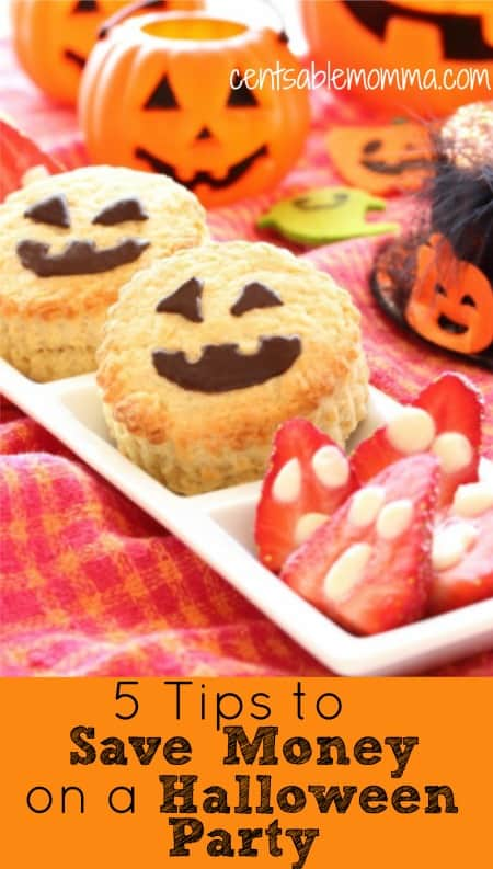 5 Tips to Save Money on a Halloween Party
