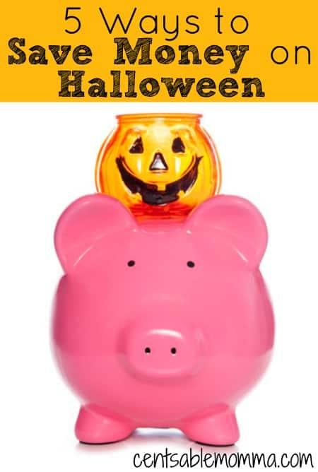 5 Ways to Save Money on Halloween