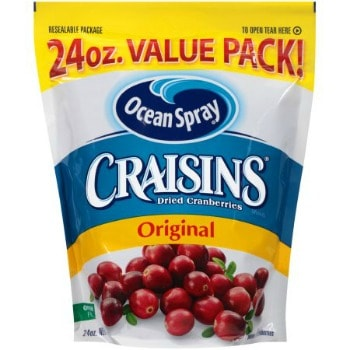 Printable Coupon: $4/2 Craisins + Target Deal