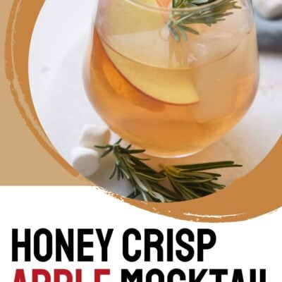 Honey Crisp Apple Mocktail Recipe