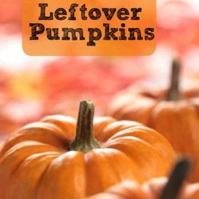 5 Uses for Leftover Pumpkins