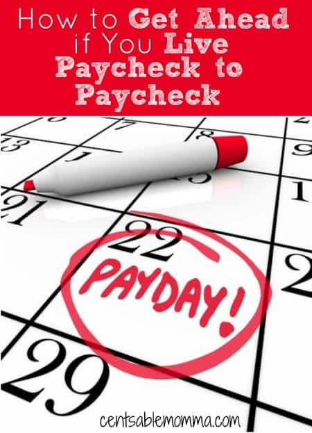 If you live paycheck to paycheck, it can feel impossible to ever get ahead. But, check out these 5 tips to help you break the paycheck to paycheck cycle and get ahead.