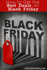 Black Friday written on wall with red price tag