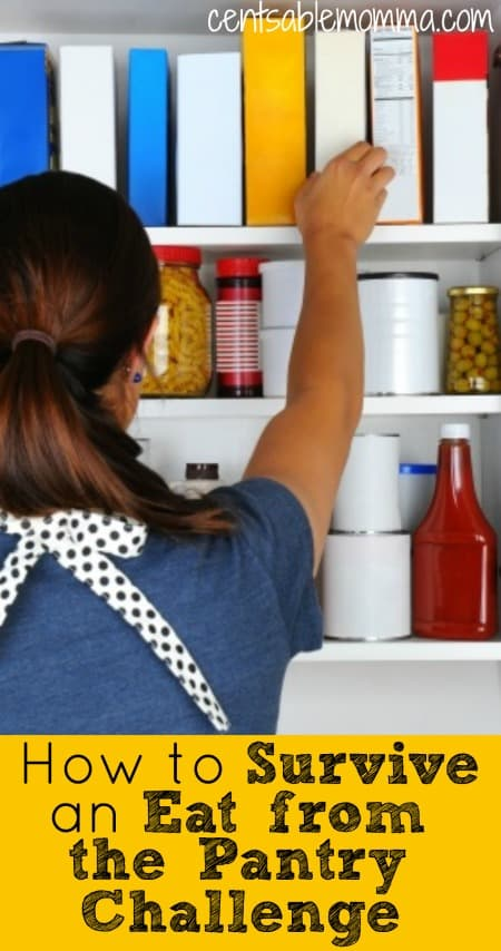 How to Survive an Eat from the Pantry Challenge